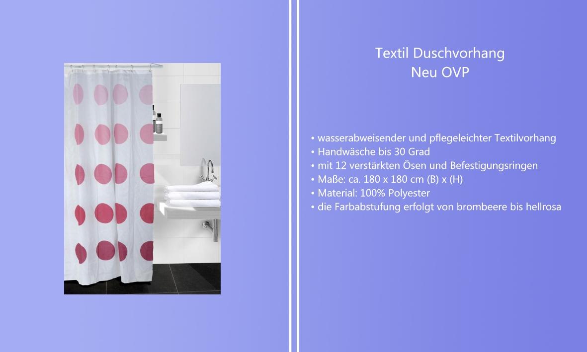 Dusche Ohne Wanne Abdichten : Dusche : Textil Duschvorhang Vorhang f?r Badewanne Wanne Bad Dusche